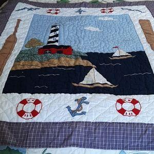 Handmade Maritime Small Quilt
